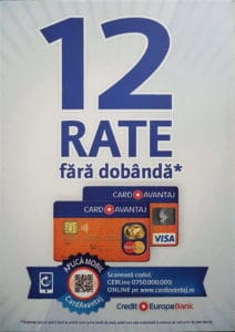 Card Avantaj - Credit Europe Bank