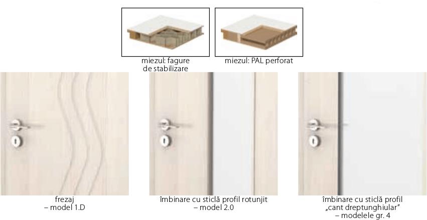 Detalii usi Porta Focus