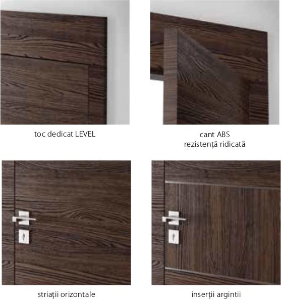 Detalii usi Porta Level