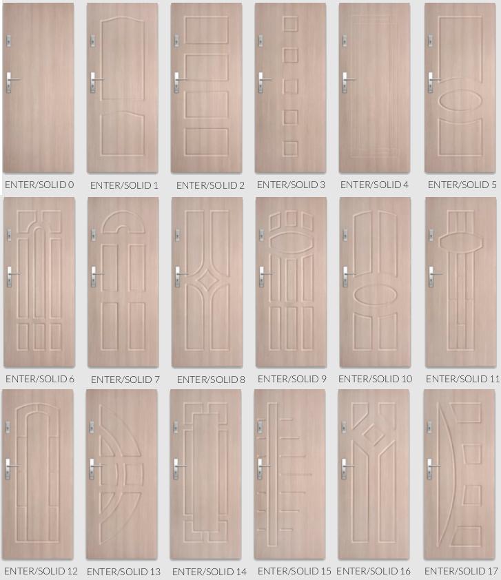 Enter / Solid - usi de intrare in apartament