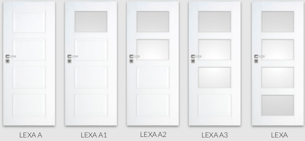 Colectia Lexa - usi de interior premium