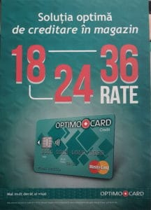 Optimo Card - Credit Europe Bank