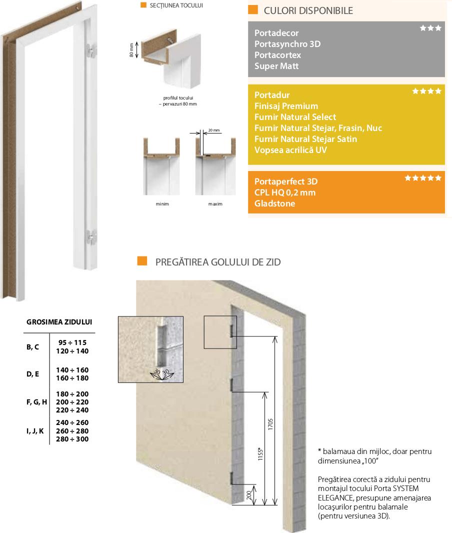 Toc Porta System Elegane