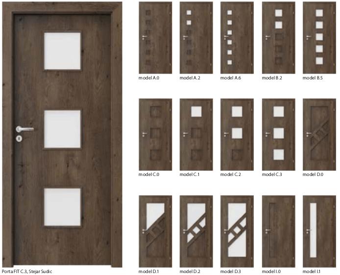 Usi Porta Fit- usi de interior Porta Doors cu finisaj sintetic