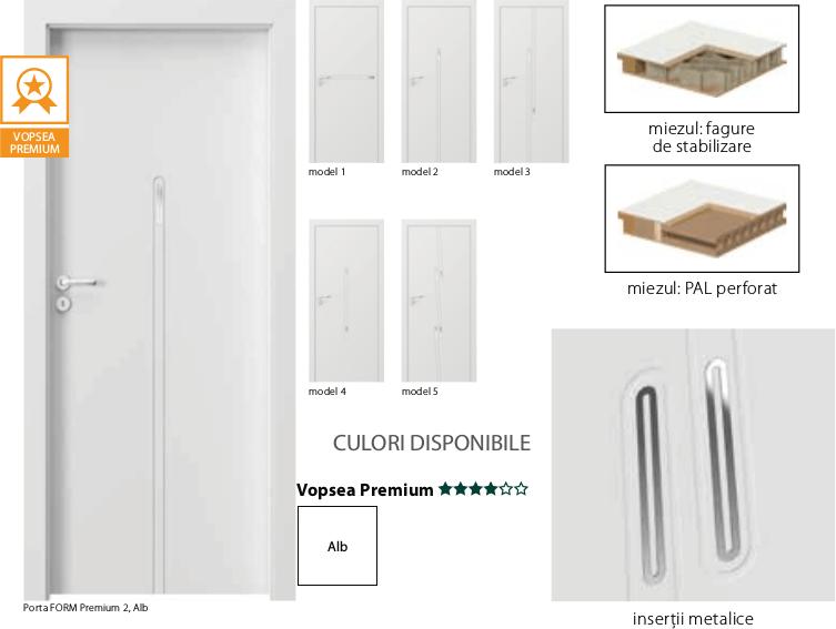 Porta Form Premium - usi de interior Porta Doors vopsite
