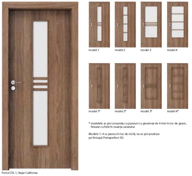 Usi Porta Stil- usi de interior Porta Doors cu finisaj sintetic